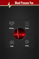 Screenshot of BloodPressure Vue