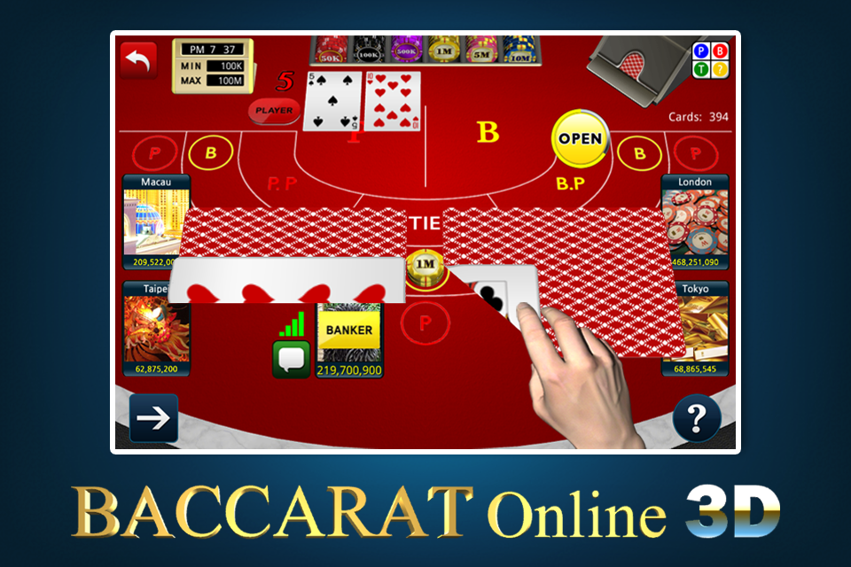 play baccarat online for free