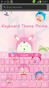 Keyboard Theme Anime - screenshot thumbnail