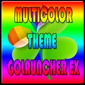 Multicolor Theme Go Ex/ NOVA