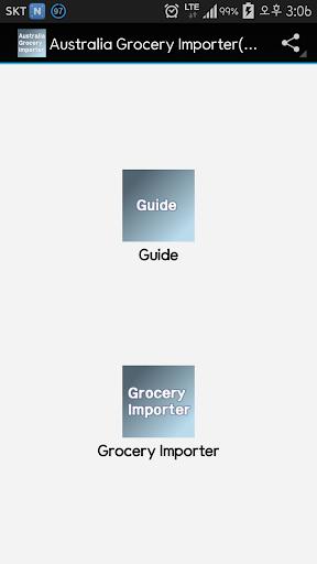 Australia Grocery Importer