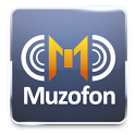 Muzofon - mp3 search engine icon