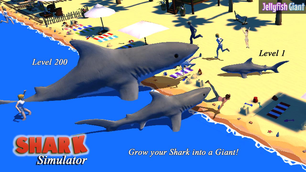 Shark Simulator 3D Unlimited Screenshot