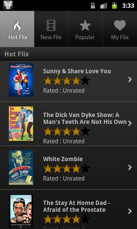 FlixFling - Unlimited Movies - screenshot