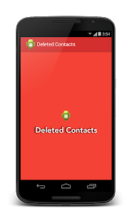 Deleted Contacts- screenshot thumbnail