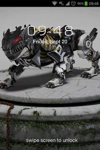 Panthera Robot 3D LWP