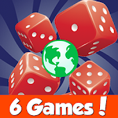 Dice World - 6 Free Dice Games