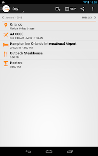 myTrip - Travel Organizer - screenshot thumbnail