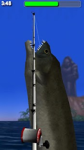 Big Dino Fishing 3D Lite- screenshot thumbnail
