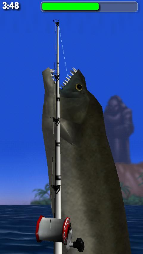 Big Dino Fishing 3D Lite- screenshot