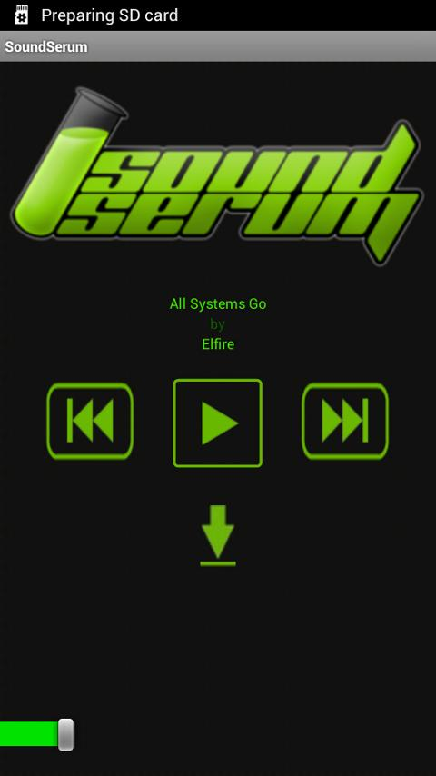 SoundSerum- screenshot