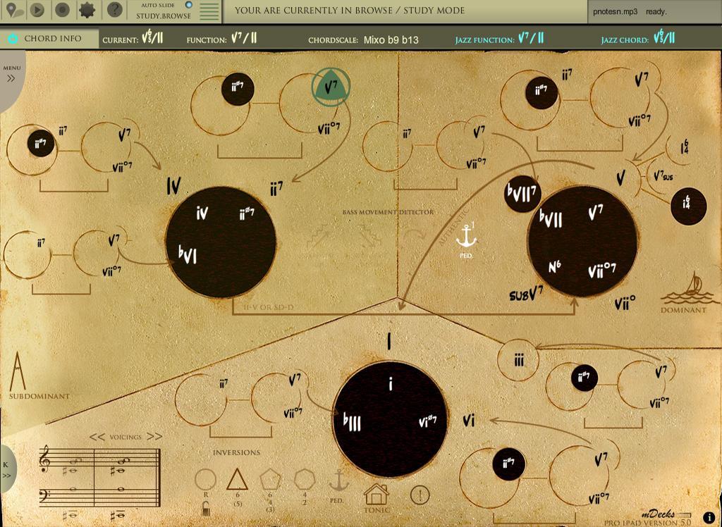 Mapping Tonal Harmony Pro - screenshot