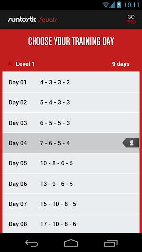 【免費健康App】Runtastic Squats深蹲软件-APP點子