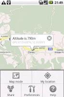 Screenshot of Get Altitude