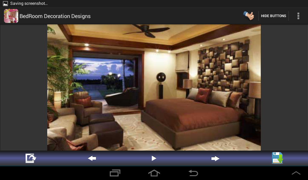 Bedroom Decoration Designs Screenshot