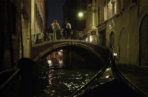 JFgondolaNightScene - Gondola night scene.