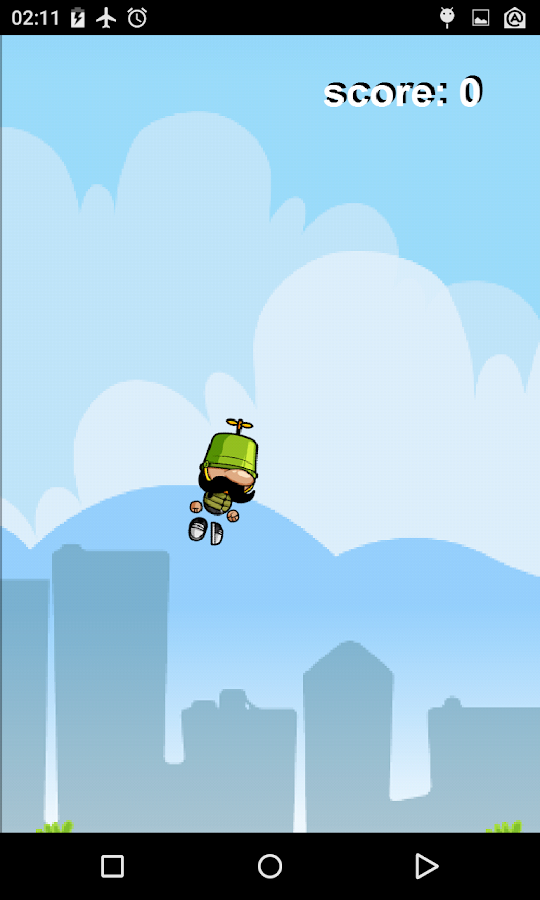 Bucket up!- screenshot