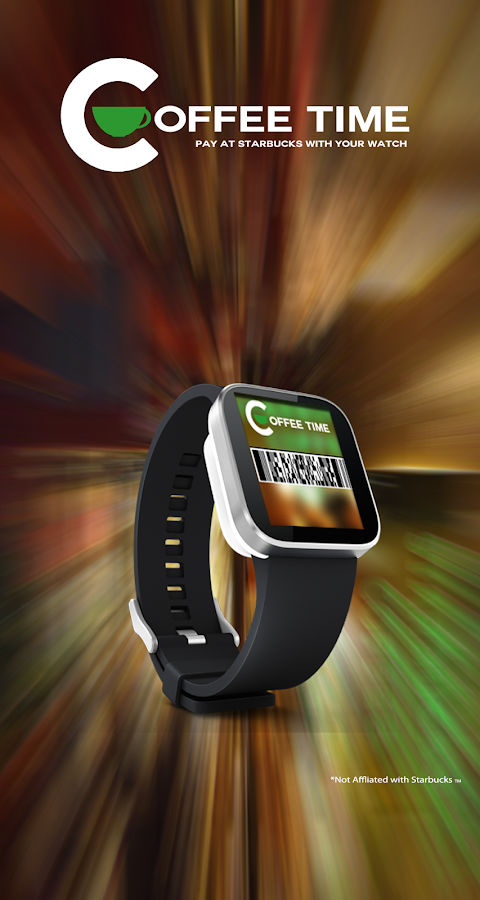 Coffee Time for Smart Watch- screenshot