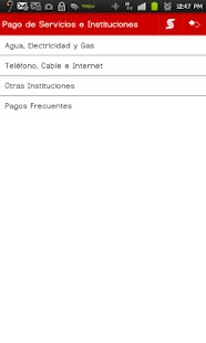 Banca Móvil Scotiabank Perú - screenshot thumbnail