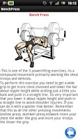 Screenshot of Gym Guide