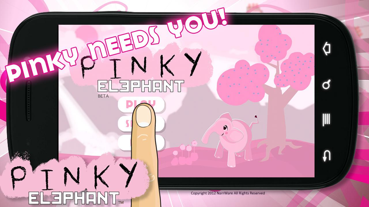 Pinky Elephant- screenshot