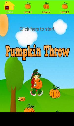 Pumpkin Throwing Game