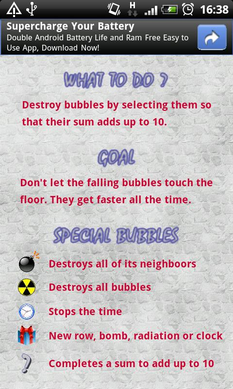 Bubble Add - screenshot