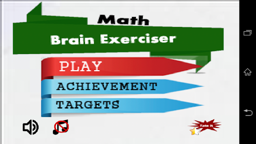 Brain Exerciser Add and Sub
