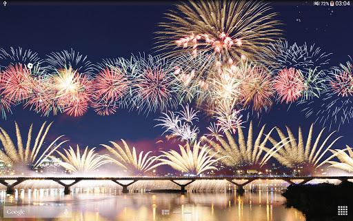 New Year Fireworks LWP (PRO) 1.3.1 screenshots 9