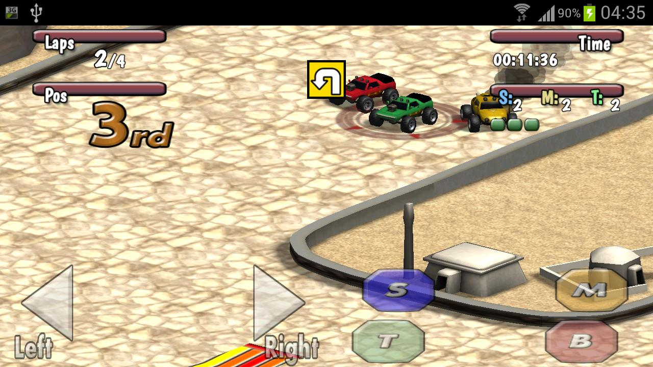 Time to Rock Racing Demo - screenshot