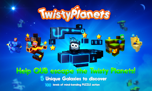 Twisty Planets Space Puzzle- screenshot thumbnail