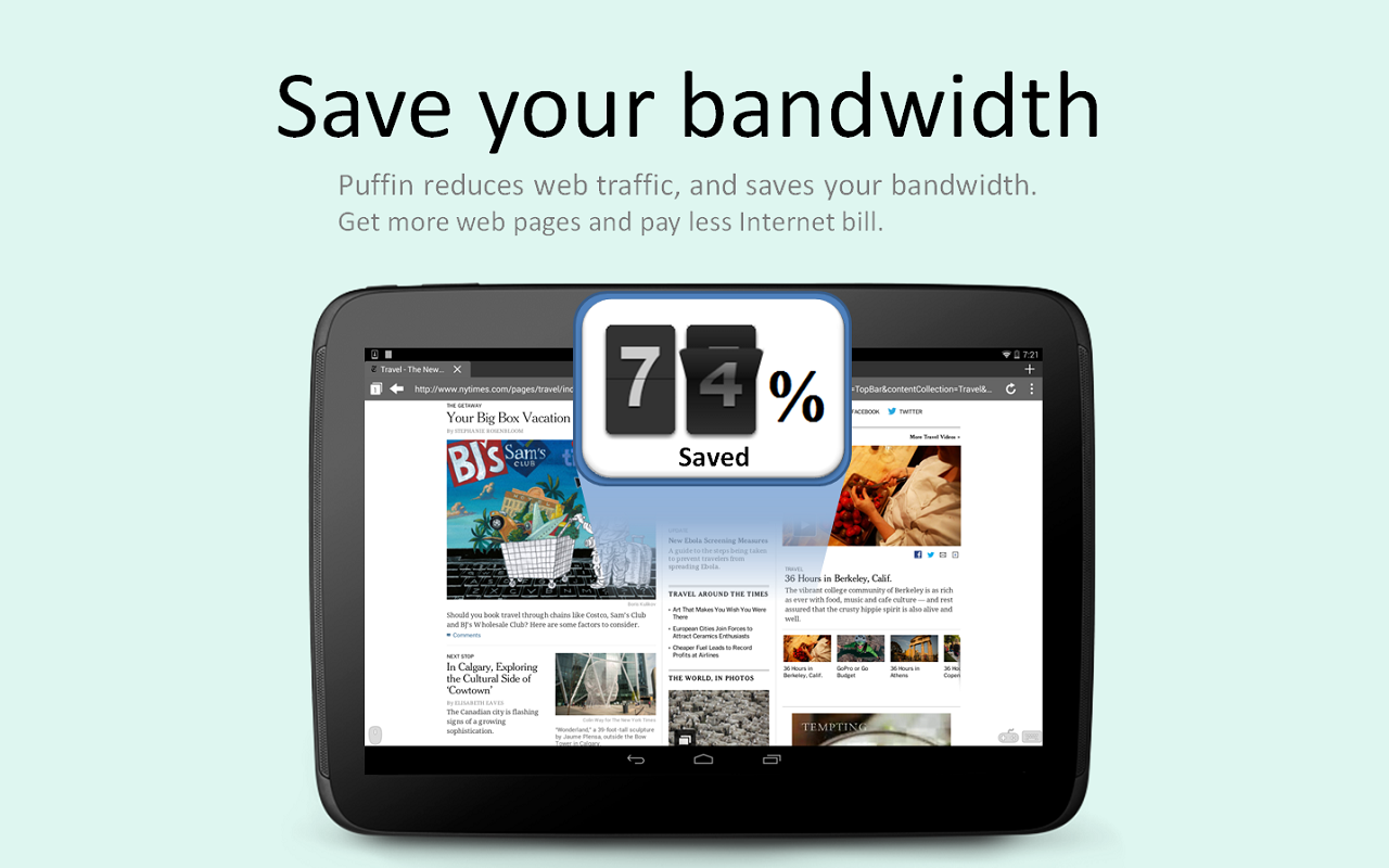 Puffin Web Browser Free - screenshot