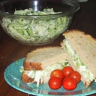 Zucchini Cucumber Salad.