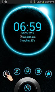 Eclipse HD Theme GO Locker - screenshot thumbnail
