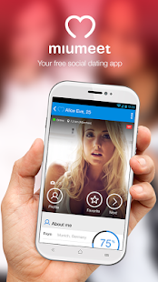 MiuMeet Chat Flirt Dating App- screenshot thumbnail