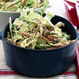 Coleslaw with Caraway and Raisins Recipe