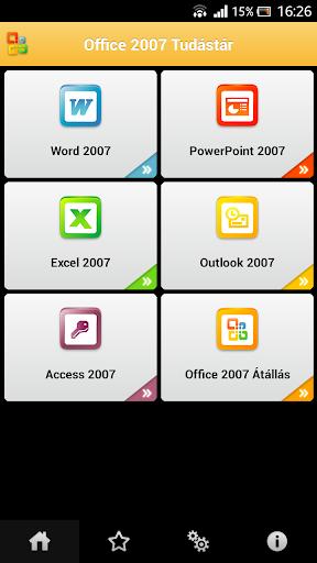Tudástár - Office 2007 Kezdő