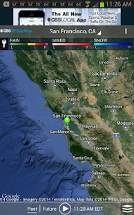 CBS SF Bay Area Weather- screenshot thumbnail
