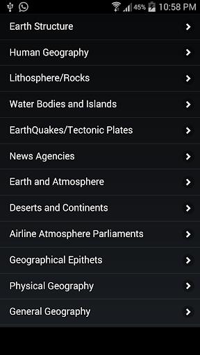 World Geography GK Test