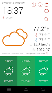 GidiWeather - Flat Weather UI screenshot 4