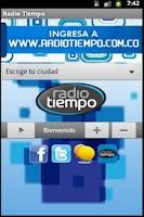 Screenshot of Emisora RadioTiempo