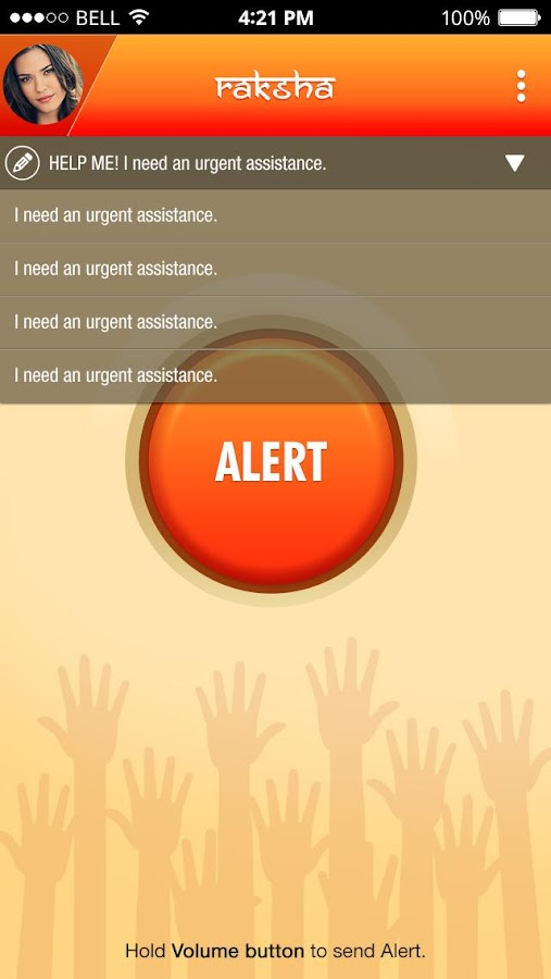 Raksha - Women Safety Alert- screenshot
