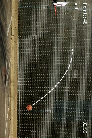 Basketball Throw! - screenshot