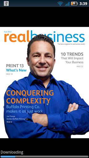 RealBusiness Magazine by Xerox