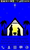 Screenshot of Nativity Live Wallpaper