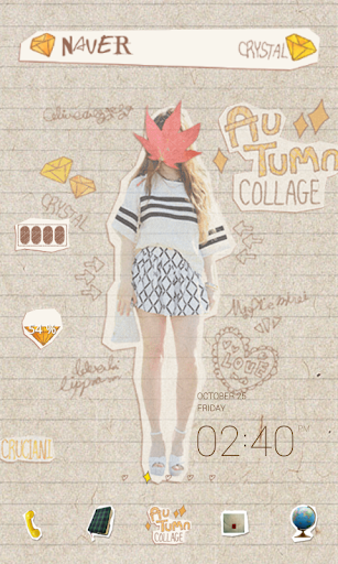 Collage dodol launcher theme