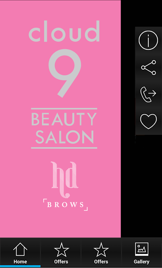 Cloud 9 beauty kildare android apps on google play for Cloud 9 salon dehradun