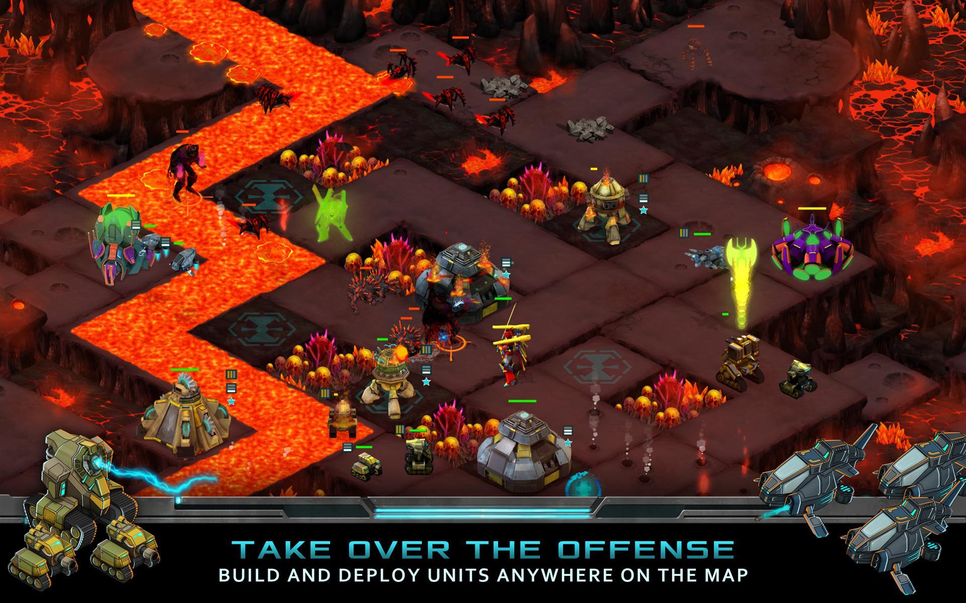Nitropia: War Commanders screenshot #13