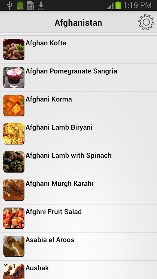 Muslim Recipes - Halal Food- screenshot