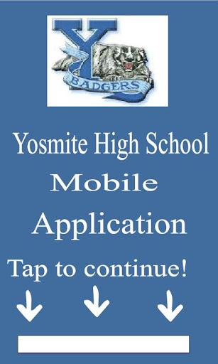 Yosemite High School App